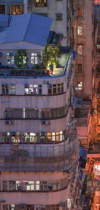 'Crepuscular Corner', Concrete stories, Hong Kong by Romain Jacquet Lagreze contemporary artwork photography, print