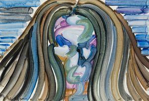 Face by Etsu Egami contemporary artwork