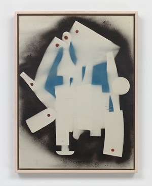 Spray enamel on canvas by David Smith contemporary artwork