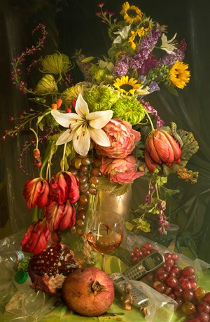 Early Fall (from the series Earth Laughs with Flowers) by David LaChapelle contemporary artwork