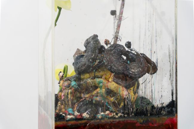 Tatlin's Tower (Corpse) by Chen Pin Tao contemporary artwork