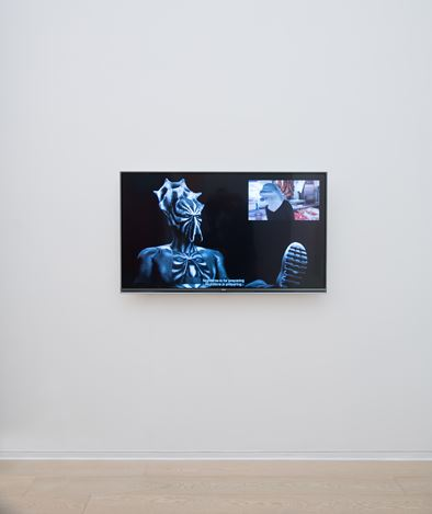 Exhibition view, Will Benedict, Law and Order, 2017. Courtesy Simon Lee Gallery, Hong Kong.