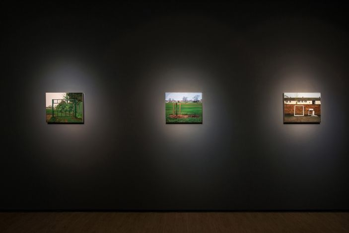 Exhibition view: George Shaw,A Scrap of History,Lin & Lin Gallery, Taipei(4 September–9 October 2021). Courtesy Lin & Lin Gallery.