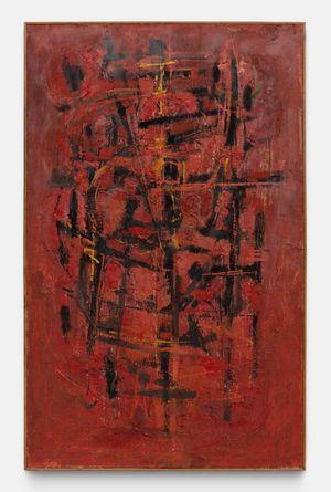 Rouge by Roger-Edgar Gillet contemporary artwork