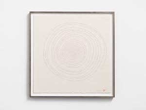 Hand-drawn Innumerable Counts 20180305 by Tatsuo Miyajima contemporary artwork