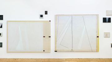 Contemporary art exhibition, Avis Newman, The Weight of Souls I at Maureen Paley, STUDIO M, United Kingdom