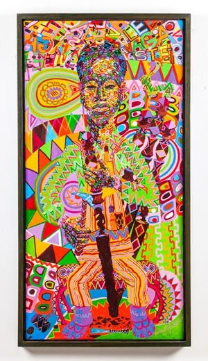 Navaga by Wadsworth Jarrell contemporary artwork