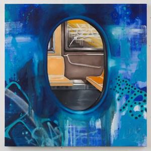Blue Portal by Chris Daze Ellis contemporary artwork