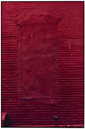 Red Wall by Zoe Leonard contemporary artwork