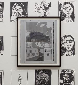 Prototyping Experiences (Museum Selfie Tableau) by Ryan Gander contemporary artwork