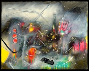Untitled by Roberto Matta contemporary artwork