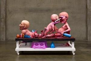Paula Jones by Paul McCarthy contemporary artwork