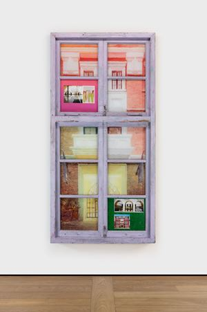 Tetris Window · Amber Building by Li Qing contemporary artwork