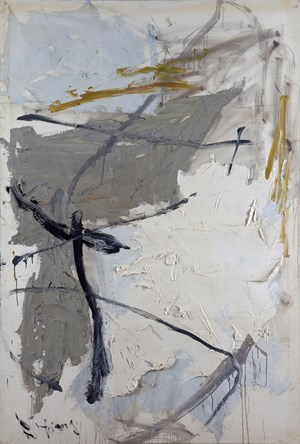 White and Grey by Huang Rui contemporary artwork