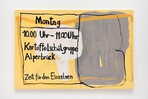 Kartoffelschälgruppe Alperbrück by Michaela Eichwald contemporary artwork