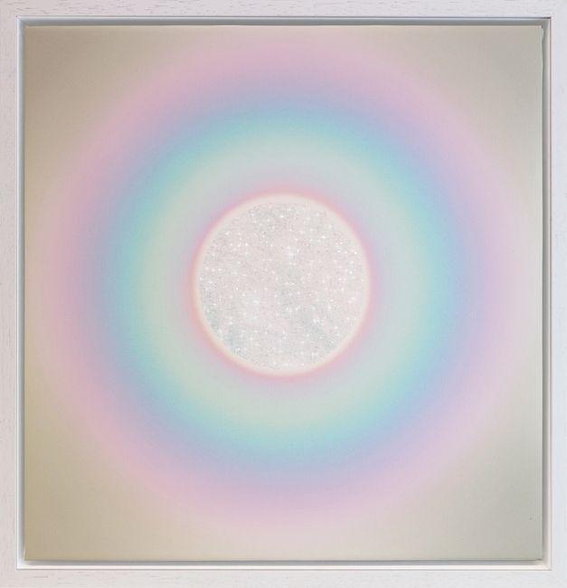 Trippy Chakra by Lauren Baker contemporary artwork
