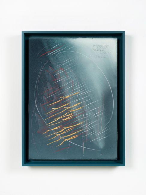 Zeitliche Koinzidenz (…) / Jung/Pauli Studie 1 by Jorinde Voigt contemporary artwork