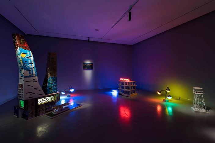 Exhibition view: Antonio Cosentino,Jpeg Archipelago, Zilberman Gallery, Istanbul (28 February–29 July 2020). Courtesy Zilberman Gallery.