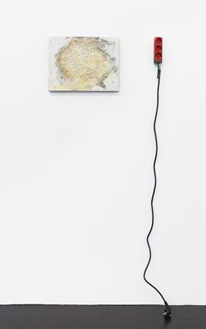 (rotten sun) by Henrik Olesen contemporary artwork