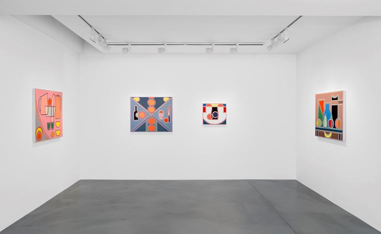 Exhibition view: Holly Coulis,Simon Lee Gallery, London(1 June–30 June 2018). Courtesy Simon Lee Gallery.