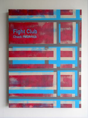 Fight Club / Chuck Palahniuk (2) by Heman Chong contemporary artwork