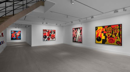 7 Oct–13 Nov 2021 Derek Boshier contemporary art exhibition