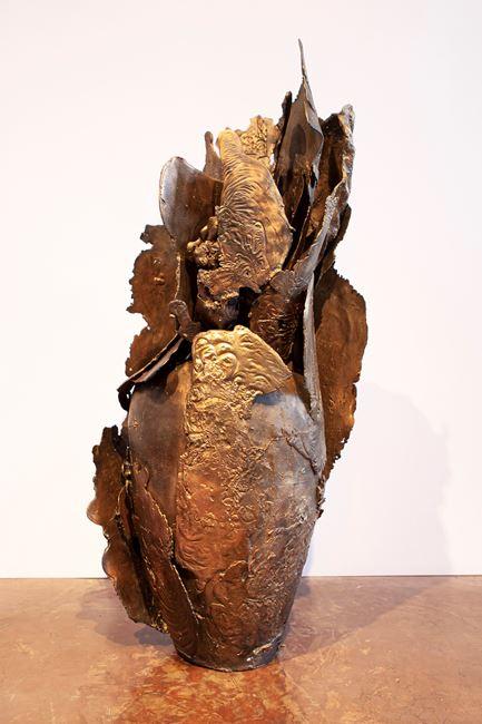 Cluster IV by Mrinalini Mukherjee contemporary artwork