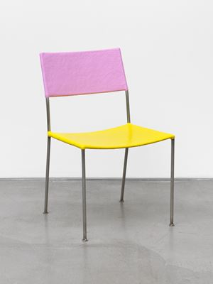 Kunstlerstuhl (Artist's Chair) by Franz West contemporary artwork