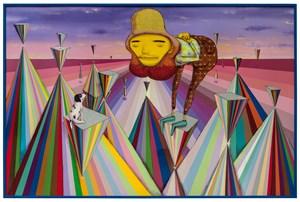 The lyrical by OSGEMEOS contemporary artwork