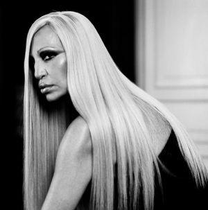 Donatella Versace, Milan by Anton Corbijn contemporary artwork