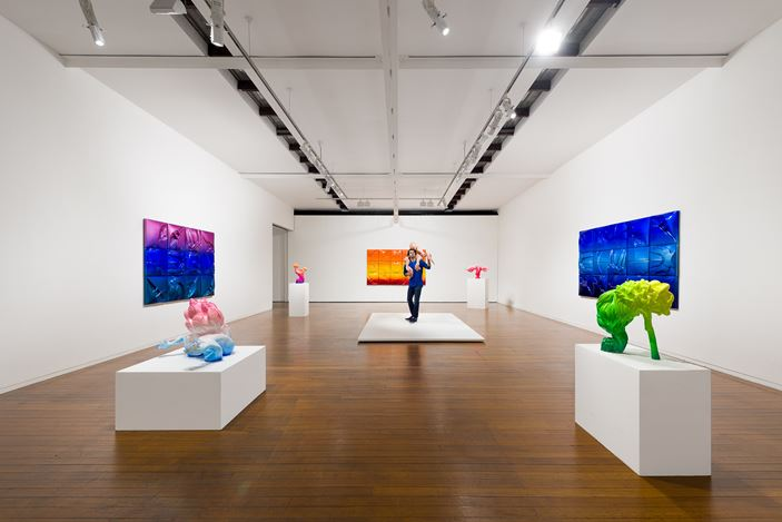 Exhibition view: Patricia Piccinini, The Gardener's Eye, Roslyn Oxley9 Gallery, Sydney (20 August –19 September 2020). Courtesy Roslyn Oxley9 Gallery. Photo: Luis Power