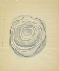 No title by Eva Hesse contemporary artwork works on paper