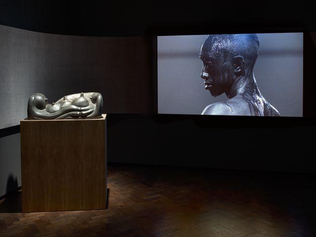 Exhibition view: Group Exhibition, META VISCERAL, Lévy Gorvy, London (1 June–31 July 2021). CourtesyLévy Gorvy.
