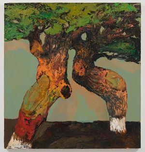 Les Arbres - Untitled by Niyaz Najafov contemporary artwork