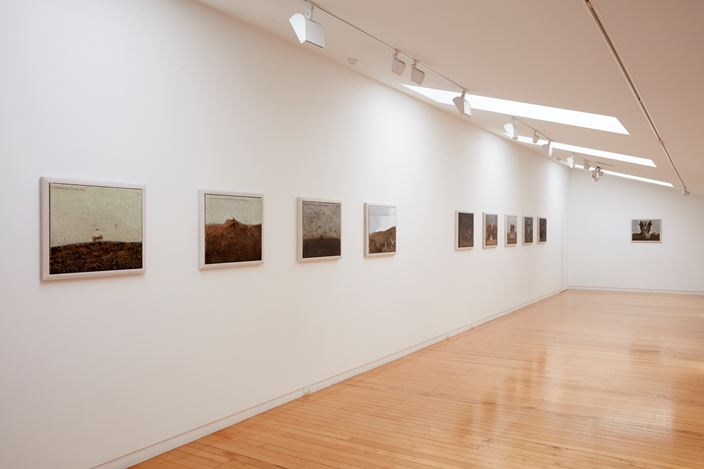Exhibition view: Michael Shepherd, Suppose the future fails, Two Rooms (30 November–22 December 2018). Courtesy Two Rooms.