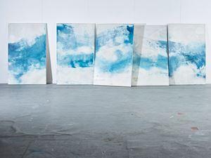 Running Parallel by Sam Lock contemporary artwork