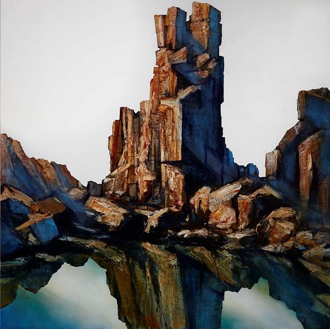 Totem by Neil Frazer contemporary artwork