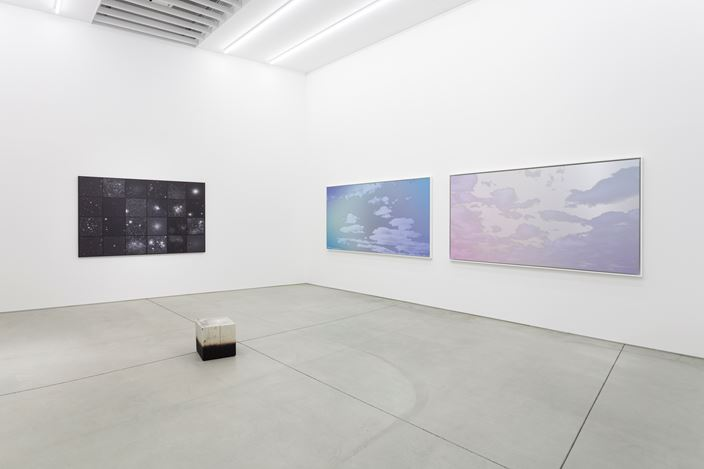 Exhibition view: Miya Ando,Kuu / 空, MAKI Gallery / Tennoz I & II, Tokyo (October 31 - December 26, 2020).Courtesy of MAKI.
