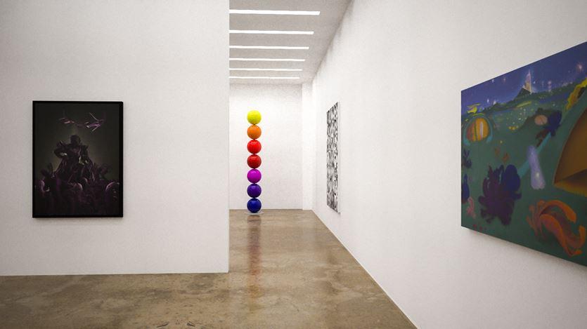Exhibition view: Group Exhibition, Radical Optimism, Kavi Gupta, online exhibition (7–20 April 2020). Courtesy Kavi Gupta.