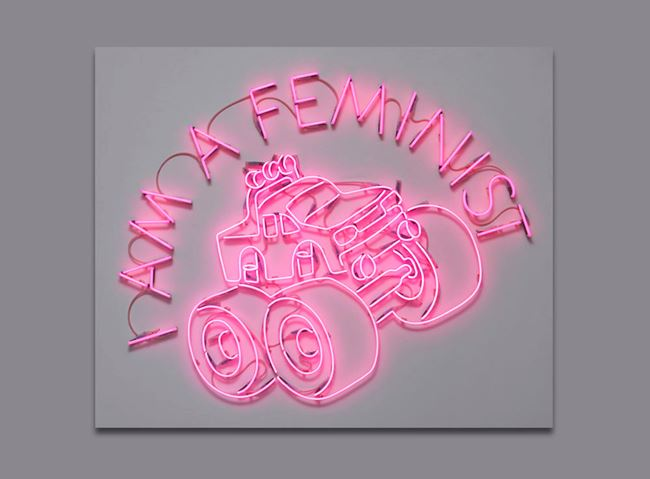 I AM A FEMINIST by Yael Bartana contemporary artwork