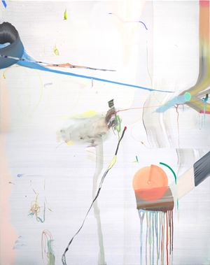 Chatter with light by Qingzhen Han contemporary artwork