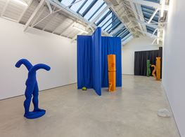 """Jesse Wine<br><em>Carve a hole in the rain for yer</em><br><span class=""""oc-gallery"""">The Modern Institute</span>"""