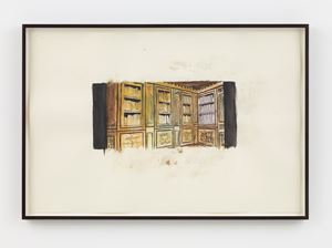 Library by Luc Tuymans contemporary artwork