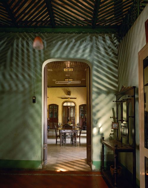 Alvares Residence, Entrance Vestibule, Margao, Goa, India by Robert Polidori contemporary artwork