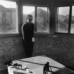Jason (desert view tower) by Moyra Davey contemporary artwork photography