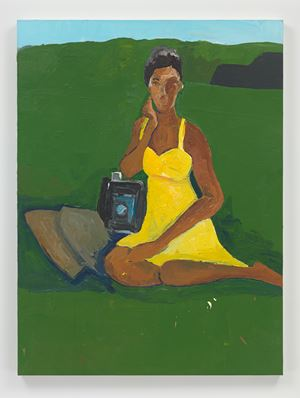 Portrait of Deana Lawson by Henry Taylor contemporary artwork