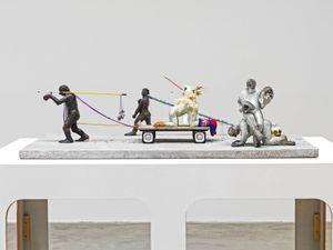 Procession Maquette by Nicole Eisenman contemporary artwork sculpture