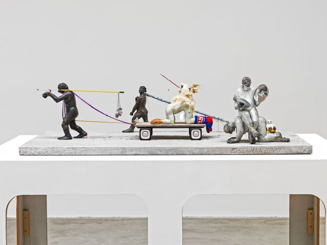 Procession Maquette by Nicole Eisenman contemporary artwork