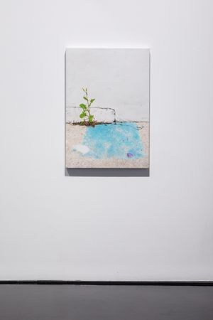 A weed is a plant in the wrong place by Andrew Browne contemporary artwork