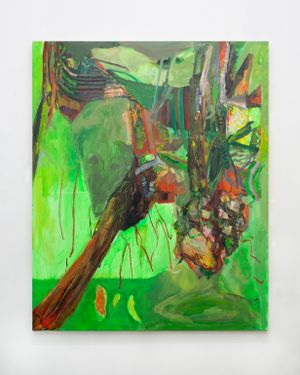 Hot moss by Francesca Mollett contemporary artwork